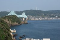 生月大橋の眺め