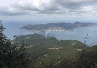 安満岳からの眺め(生月島)