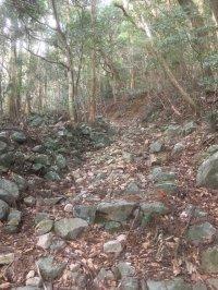 安満岳登山道